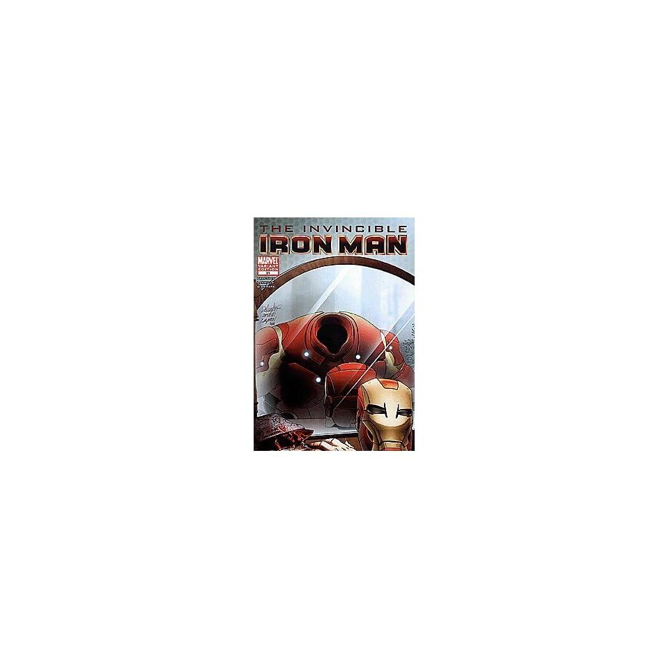 Invincible Iron Man (2008 series) #31 VAMPIRE Marvel Books