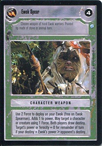 Star Wars-CCG Endor Card-Giacca a vento Ewok Spear