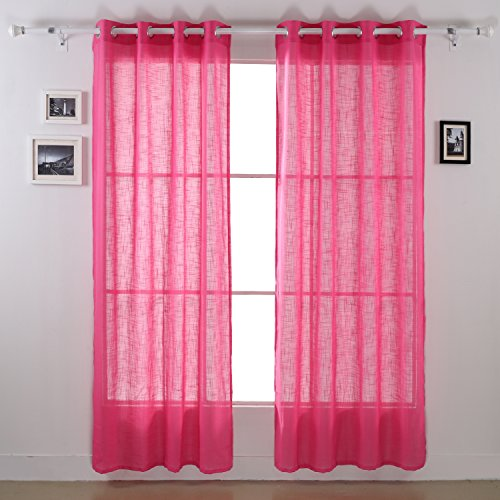 deconovo-sheer-window-panels-sheer-drapes-voile-curtain-panels-for-office-52-x-63-inch-azalea-pink-1