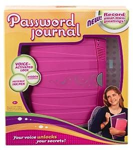 Password Journal 8 from Mattel
