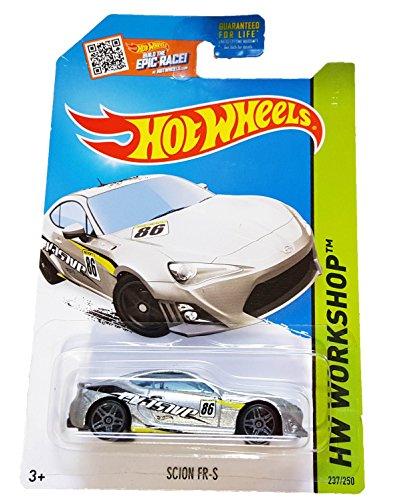 hot-wheels-2015-hw-workshop-scion-fr-s-silver-die-cast-vehicle-237-250-by-mattel