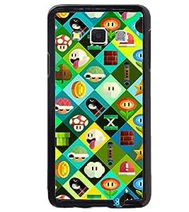 Printvisa Multicoloured Cartoonish Pattern Back Case Cover for Samsung Galaxy A3::Samsung Galaxy A3 A300F
