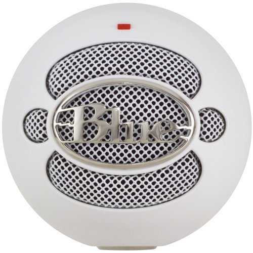 Blue Microphone Snowball Usb Microphone White