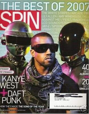 Spin Magazine - January 2008 - Best Of 2007 - Kanye West - Daft Punk PDF