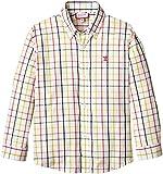 Neck & Neck - Camisa Boton para niño, color coral / coral 33, talla 2A