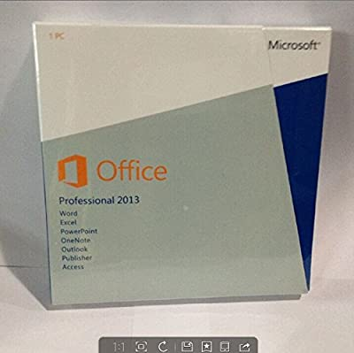 Office 2013 Professional Disc for 1 PC