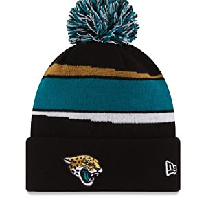 Jacksonville Jaguars NFL Official Sideline Knit Hat by New Era