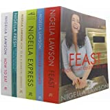 Nigella Lawson Food and Cookery 6 Books Collection Set (Feast: Food that Cele...