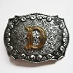 Belt Buckle (New Western Cowboy Initi...