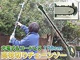 電動工具/コードレス/充電式/高枝切りチェーンソー/YSGT-08014