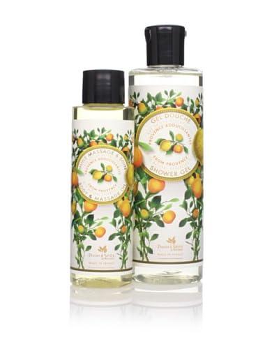Panier des Sens Soothing Oils from Provence Shower Gel & Massage Oil, Set of 2