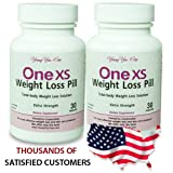 One XS Weight Loss Pills Combo Extra Strength Prescription Grade Appetite Suppressant and Fat Burner. No Prescription Needed. 60ct - 2 month supply.