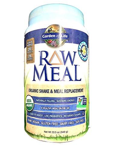 Garden of Life RAW Organic Meal Vanilla, Vanilla 1115 g