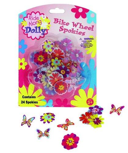 Bike Wheel Spokies - Ride Along Dolly Flower