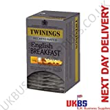 Twinings English Breakfast Decaf Envelopes 4x20's