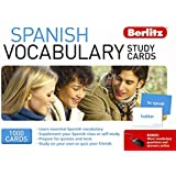 Spanish Vocabulary Study Cards