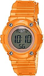 Sonata Sports Digital Grey Dial Womens Watch - 77042PP07J