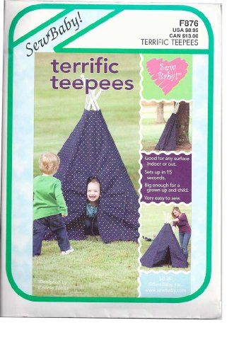 Indoor/Outdoor Teepee - Sewing Template - 59