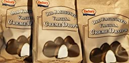 Zachary Old Fashioned Vanilla Creme Drops 8 oz. 3-Pack