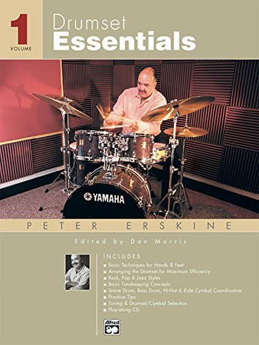 Drumset Essentials, Vol 1: Book & CD