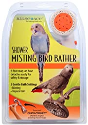 Rinse Ace Shower Misting Bird Bather