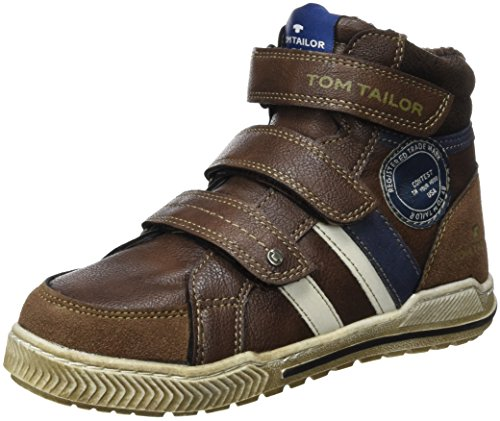 TOM TAILOR Kids1670403 - Scarpe da Ginnastica Basse Bambino , Marrone (Braun (Rust)), 36
