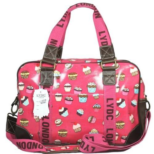 Lydc Women's Cupcake Design Weekend Bag