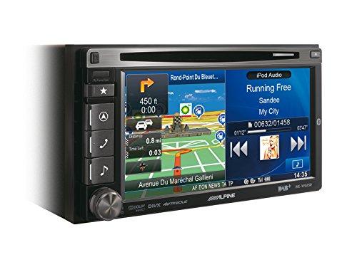 Alpine-INE-W925R-Navigationssystem-61-Zoll-Displaystarrer-Monitor-169Kontinent