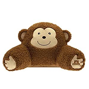 Relaximals Monkey Kids Reading Pillow -