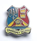 Strathspey Railway Boat of Garten to Dufftown Scotland Pin Badge