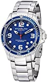 "Stuhrling Original Mens ""Specialty Grand Regatta"" Stainless Steel Professional Swiss Quartz Dive Watch"