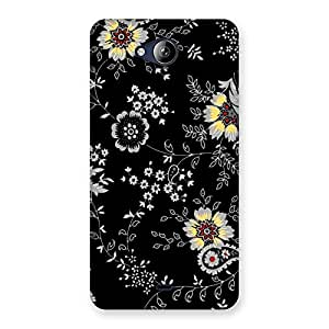 Classic Flower Back Case Cover for Canvas Play Q355