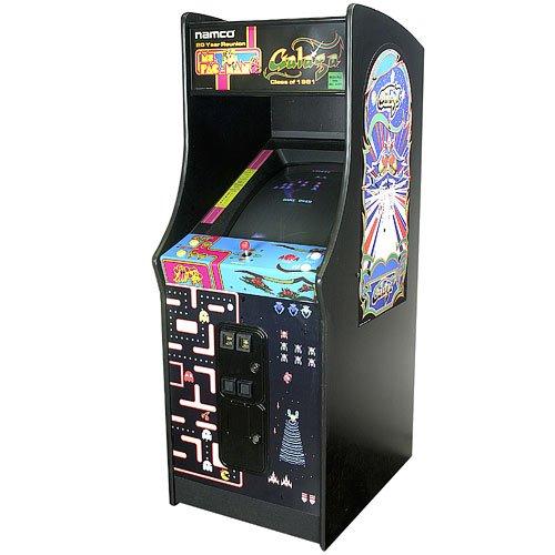 Ms. Pac Man & Galaga Upright Arcade Game Machine