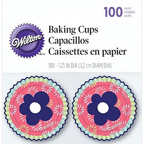 Wilton candies casos de papel que brota, 100 pcs