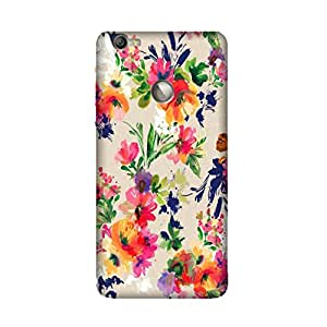 LeEco LE 1s Perfect fit Matte finishing Motif Pattern Mobile Backcover designed by Aaranis (Multicolor) Perfect fit Matte finishing Vintage Floral Pattern Mobile Backcover designed by Aaranis (Multicolor)