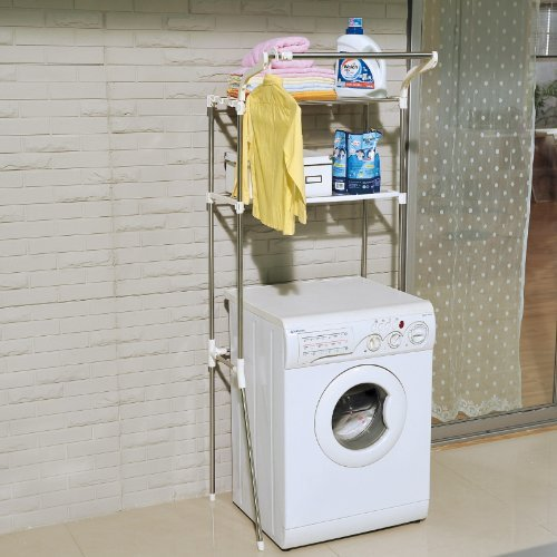 above washing machine storage