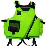 Kayak Life Jacket Green Adult Buoyancy Aid Sailing Kayak PFD Life Jacket Jackets Apple Green/ Coral