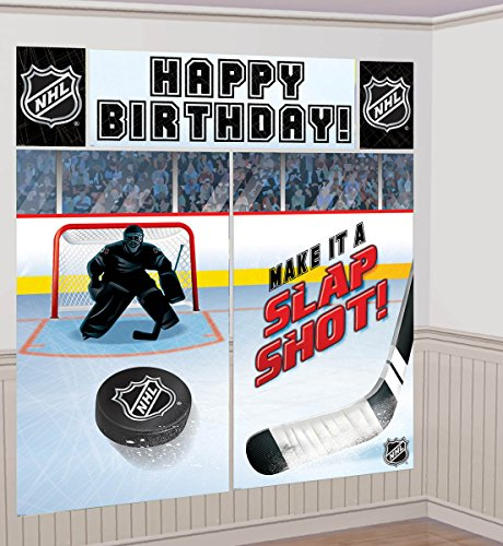 NHL Scene Setter Kit Party Decorations - 1