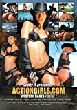 Cover art for  ACTIONGIRLS.COM WESTERN BABES VOL 1