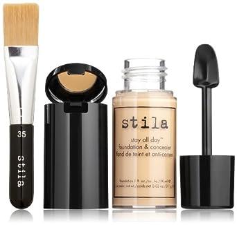 stila Stay All Day Foundation, Concealer & Brush Kit, Light