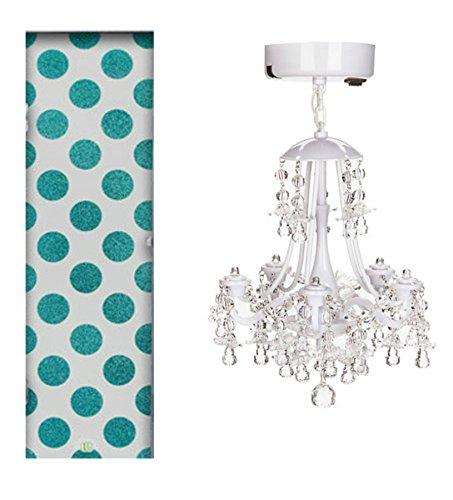 blue chandelier wallpaper-#24