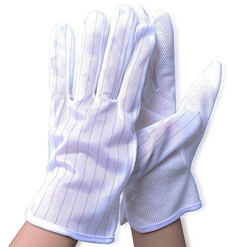 Aituo 3 paia, Anti-Anti static-skid Gloves-Guanti di sicurezza per Pc
