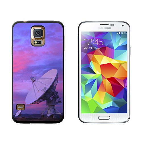 Very Large Array Vla Radar Telescope Dishes New Mexico At Sunset - Snap On Hard Protective Case For Samsung Galaxy S5 - Black