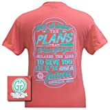 Girlie Girl Originals Women's For I know Jer. 29:11 T-Shirt