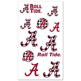 NCAA Alabama Crimson Tide Multi-Pack Houndstooth Temporary Tattoos at Amazon.com