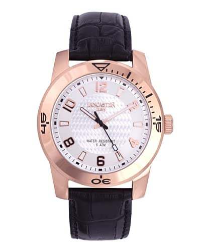 Lancaster Reloj con movimiento Miyota Timeleader Rosé  45 mm
