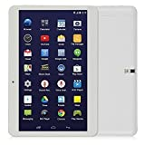 """LeaningTech QT-10 10.1"""" inch 3G Smart Phone Android WiFi Tablet Phablet with 2 SIM Card Slots, A33 Quad Core Google Android 4.4.2 KitKat Tablet, 16GB, White video review"""