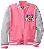 FREEZE Big Girls' Disney Minnie Mouse Varsity Fleece Jacket
