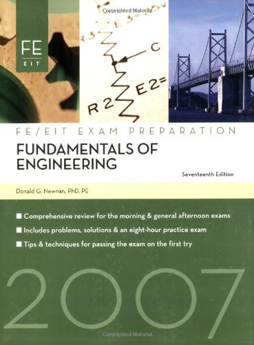 Fundamentals Of Engineering: Fe Exam Preparation front-382043