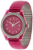 Fossil Women's ES2909 Pink Stainless-Steel Quartz Watch with Pink Dial